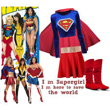 Halloween Costumes Supergirl Homemade Costume Supergirl Polyvore