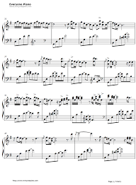 thanksgiving george winston stave preview 3 free piano sheet