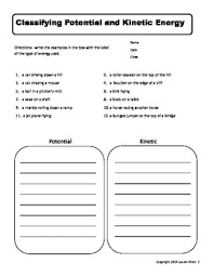 6th grade energy worksheets science pinterest worksheets