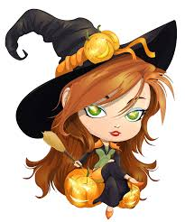 cute witch halloween clipart clipartxtras