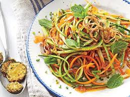 zucchini carrot salad with catalina dressing recipe myrecipes
