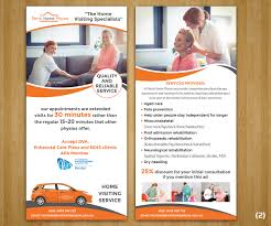 professional upmarket flyer design for perth home physio by
