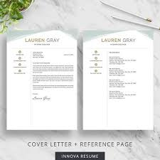 Reference Page For Resume Template 24 Best Resume Templates Images On Pinterest Cv Template