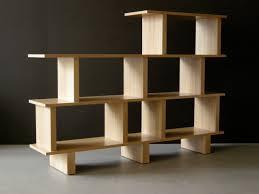Unique Room Divider Making Room Divider Shelves