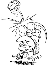smurf coloring pages coloring pages