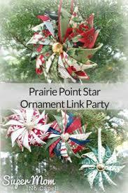 fabric origami christmas star ornaments fabric origami origami
