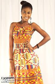 kente print cloth african wear maxi dress fashionghana com 100