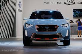subaru suv concept interior 2017 subaru xv crosstrek previewed by this rugged concept in