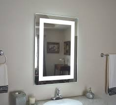 Bathroom Cabinet With Lights And Mirror by Lighted Vanity Mirror
