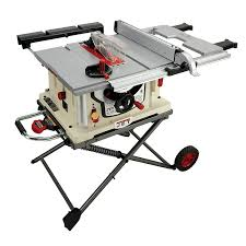 Woodworking Magazine Table Saw Reviews by Jet Jbts 10mjs 10 Inch Jobsite Table Saw Power Table Saws