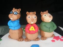 alvin and the chipmunks cake toppers alvin and the chipmunks cake topper fernanda lopes flickr