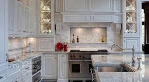 antique white kitchen cabinets with subway tile backsplash antique white cabinets transitional kitchen drury designs