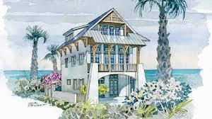 waterfront villa coastal living southern living house plans