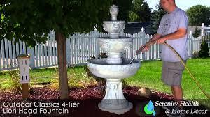 fountain for home decoration good outdoor garden patio lawn