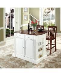 crosley furniture kitchen island get the deal crosley furniture coventry drop leaf breakfast bar