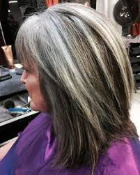 salt and pepper hair with brown lowlights formula the perfect silver color melt career silver color