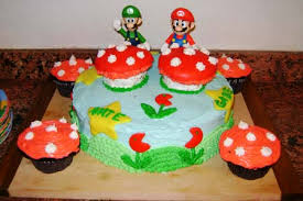 Super Mario Decorations Cake Mario Bros Cake Decorations Super Mario Party Supplies