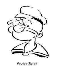popeye cartoon characters