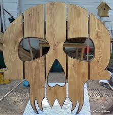 Skull Adirondack Chair Pallet Adirondack Chair Plans Easy Woodworking Ideas