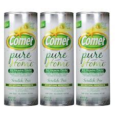 cn comet french pure home non abrasive powder scrubbing