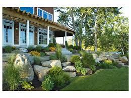 backyard landscaping design ideas beach style landscape through