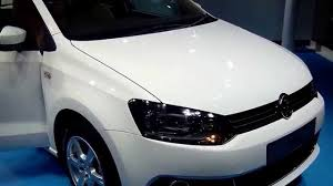 volkswagen car white volkswagen vento highline in candy white at 12th auto expo 2014