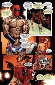 like deadpool before it the deadpool and spider on stage comicnewbies