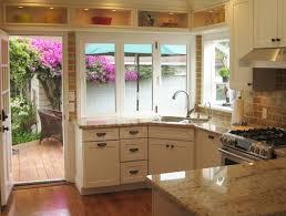 kitchen window design ideas small kitchen designs with window no cabinets