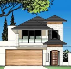 Homes For Narrow Lots House Floor Plans Narrow Block