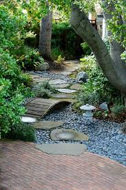 Rock In Garden 50 Easy Creek Landscaping Ideas You Can Make