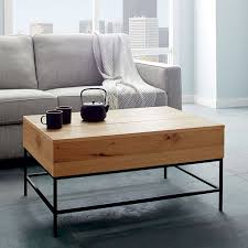 oval coffee table modern industrial coffee table west elm militariart com