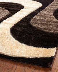 Black And Red Shaggy Rugs Floor Smooth Shag Area Rugs For Nice Interior Floor Decor Ideas