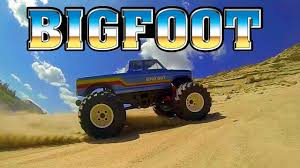 bigfoot monster truck youtube rc monster truckin u0027 bigfoot 120fps slow mo youtube