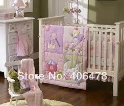 Baby Bedding Crib Set 4pcs Set Baby Bedding Crib Sets Princess Castle Quilt Cot Bumper