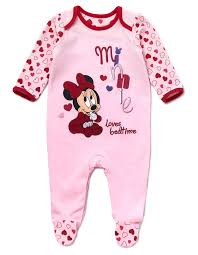 minnie mouse baby sleepsuit george at asda baby pinterest