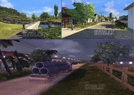 game pc mod indonesia map indonesia jalur selatan 1 3 add on ets 2 mods