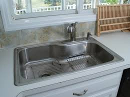 Remove Kitchen Sink Faucet Replacing Kitchen Sink Interiors Design