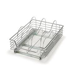 Kitchen Cabinet Tray Dividers Rev A Shelf 10 In H X 3 In W X 11 875 In D Single U Shape