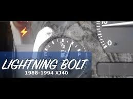 chrysler 300 dash warning lights lightning bolt how to fix lightning bolt warning light on jaguar youtube