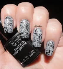 sensationail gel matte top coat lace nail art 2 pinterest