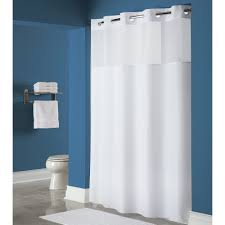 Matching Bathroom Window And Shower Curtains by Hookless Hbh40mys0174 White Mystery Shower Curtain With Matching