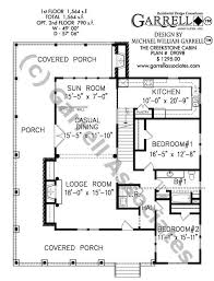 floor plans for cabins creekstone cabin house plan house plans by garrell associates inc