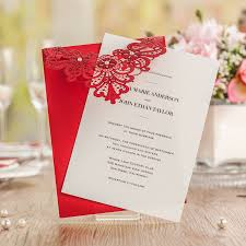Wedding Invitation Cards China Online Buy Wholesale Asian Wedding Invitations From China Asian
