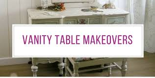 Vintage Vanity Table 23 Gorgeous Dressing Table Makeovers You U0027ll Fall In Love With