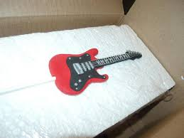 guitar cake topper fondant guitar cake topper custom color of choice
