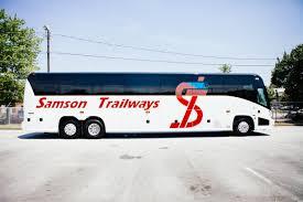 Luxury Van Rental In Atlanta Ga Charter Bus In Atlanta Samson Trailways Coach Rentalsamson