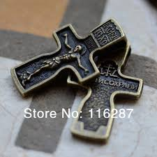 religious gifts 15pcs catholic religious gifts 19mm 30mm orthodox cross vintage
