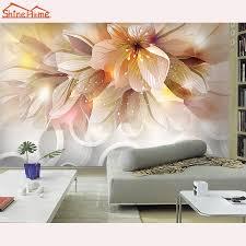 Modern Floral Wallpaper Online Buy Wholesale Modern Floral Wallpaper From China Modern