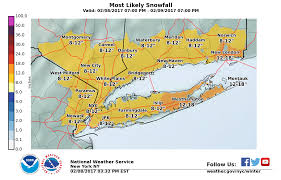 Suffolk County Map Blizzard Warning Issued For Suffolk County Riverhead Ny Patch