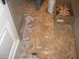 wooden floor pattern based on m c escher u0027s u0027reptiles u0027 mc